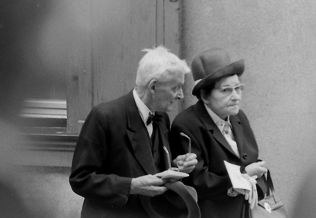 Altes Ehepaar - old couple | Scan von 1973 ...
