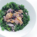 Tuna, Red Onion and Kale