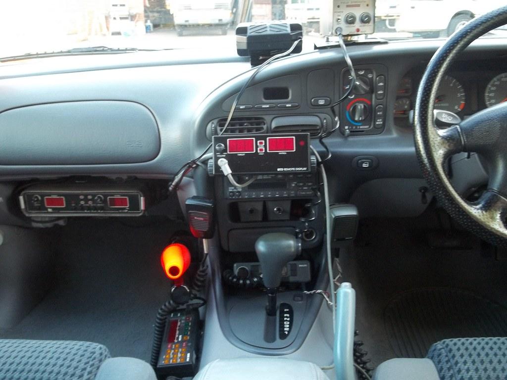 El Xr8 Police Car El Xr8 Dash View Top Of Dash 1 Vg2