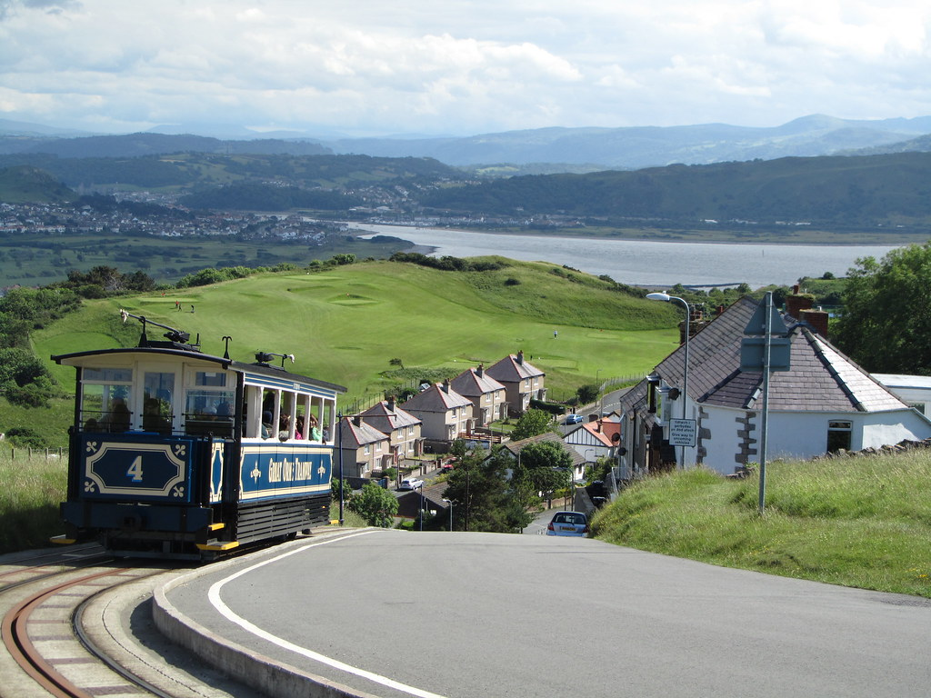 UK - Wales - Llandudno - Tram going down Great Orme | Flickr