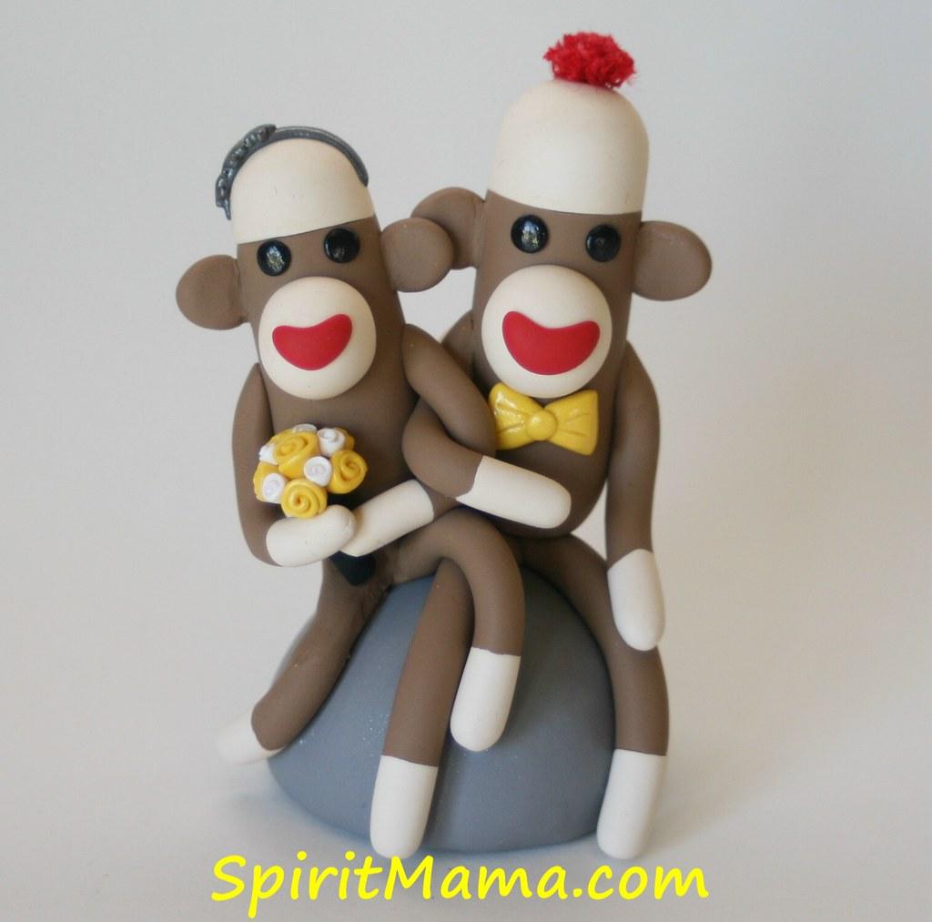 Monkey at wedding