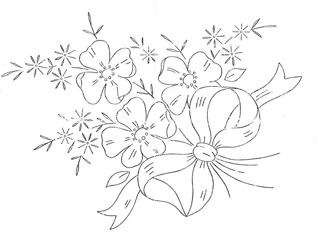 Flowers for feeling stitchy stitch along pam pedersen