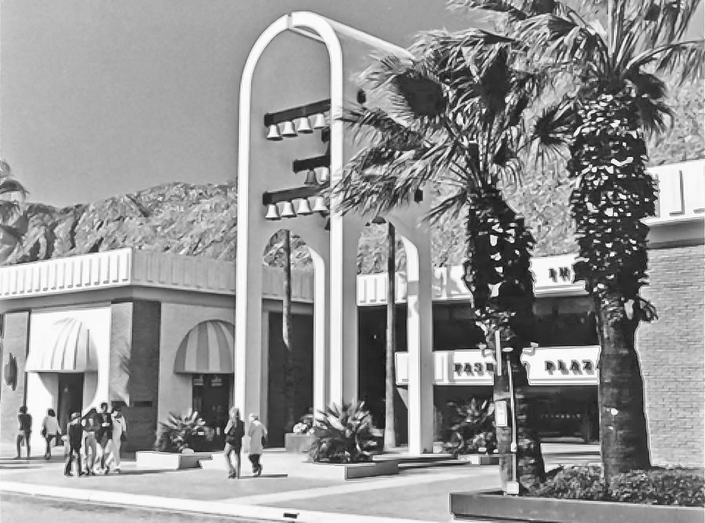 Desert Fashion Plaza Palm Springs at Desert Fashion Plaza