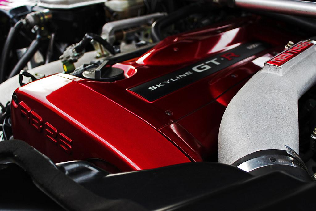 Nissan Skyline R34 Gtr Vspec Engine Rb26 Completely
