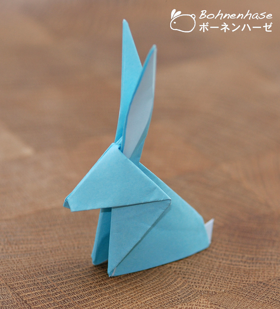 Simple Origami Rabbit / シンプル折り紙ウサギ | For more ...