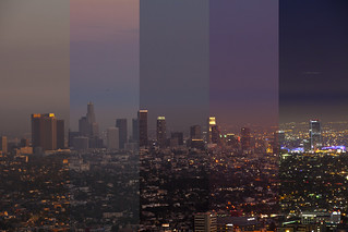 Los Angeles Downtown Skyline from the Observatory | by tyfihi