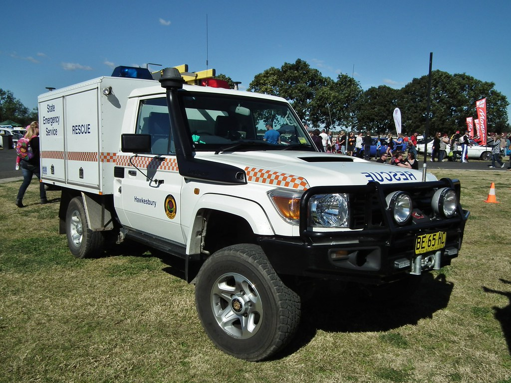 2010 Toyota Landcruiser Hzj78 Rescue Truck Nsw Ses Flickr
