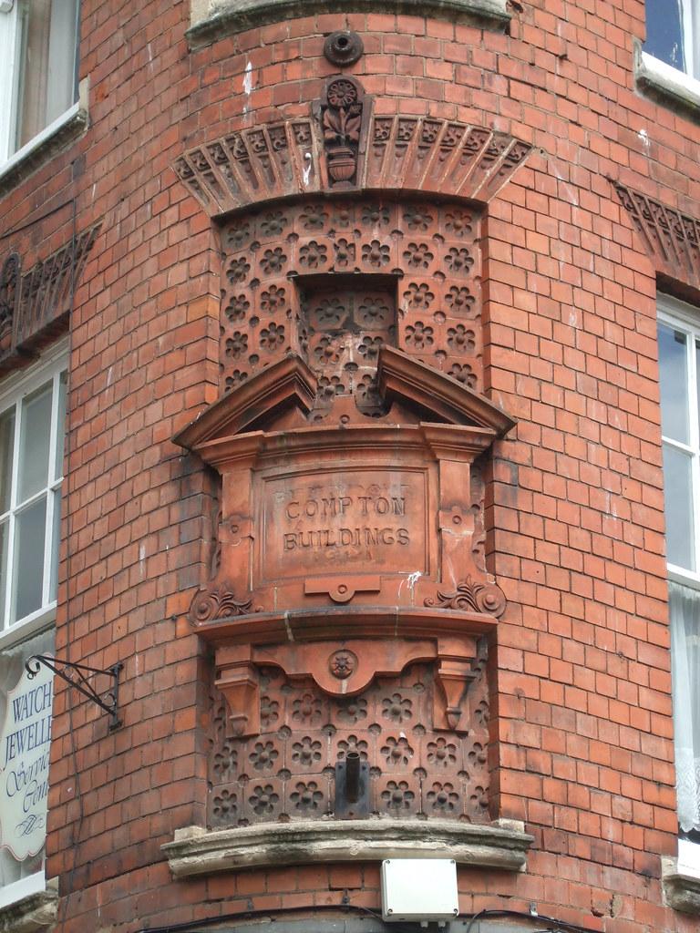 Decorative Brickwork Compton Buildings High Street Worc