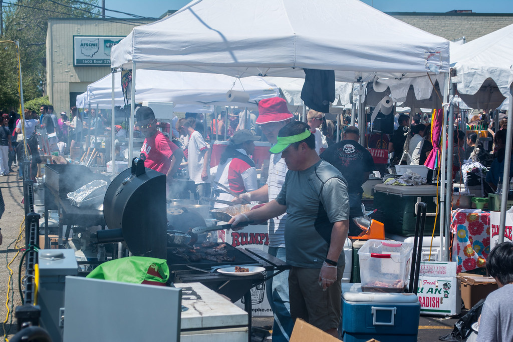 food vendors - Cleveland Asian Festival