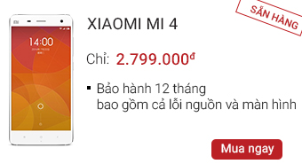 Xiaomi Mi 4 16 GB - CellphoneS