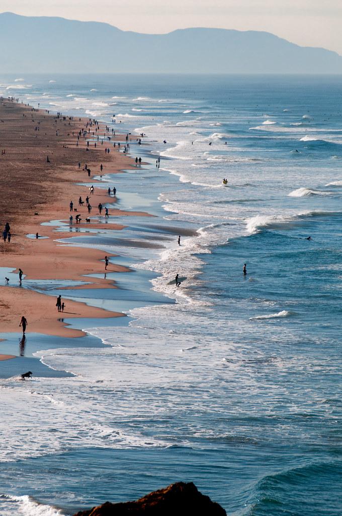 San francisco 2011 joshua zhu flickr for Surf fishing northern california