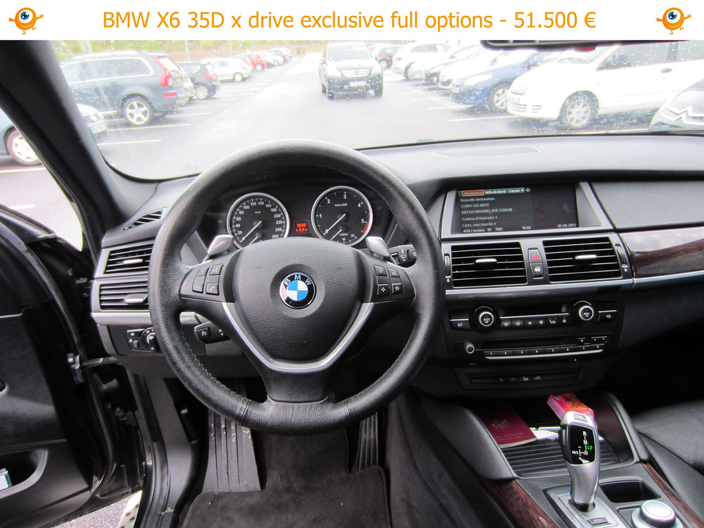 bmw x6 bmw x6 noir full options en vente via l 39 agence zewi flickr. Black Bedroom Furniture Sets. Home Design Ideas