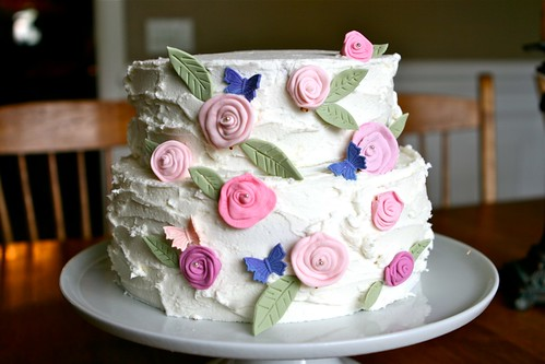 Rustic Flower Cake 001 | by Hungry Housewife