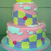 Pink Patchwork Baby Shower