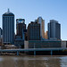 Brisbane City from Southbank Parklands