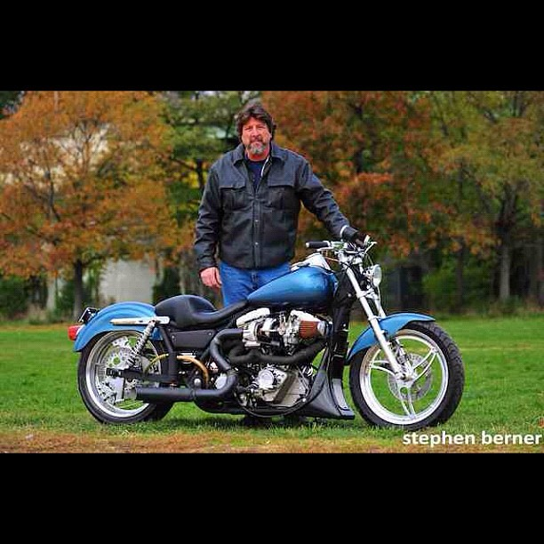 Harley Fxr Turbo: Richies Turbo FXR. #vtwin #harley #turbo
