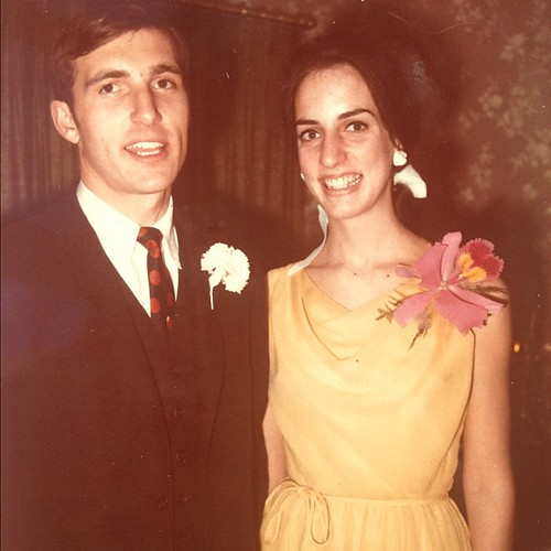 Dad was 21. Mom was 19. I wore that dress at my wedding 37 years later. | by kate*