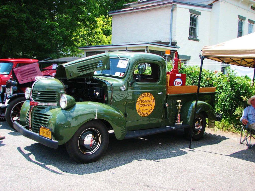 A 1946 Dodge Pick Up In July 2012 Seen At The 2012