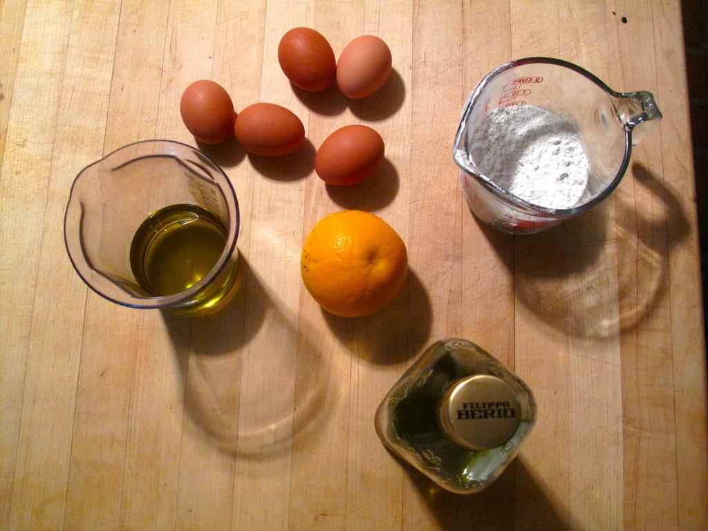 Orange Olive Oil Rosemary Cake Recipe