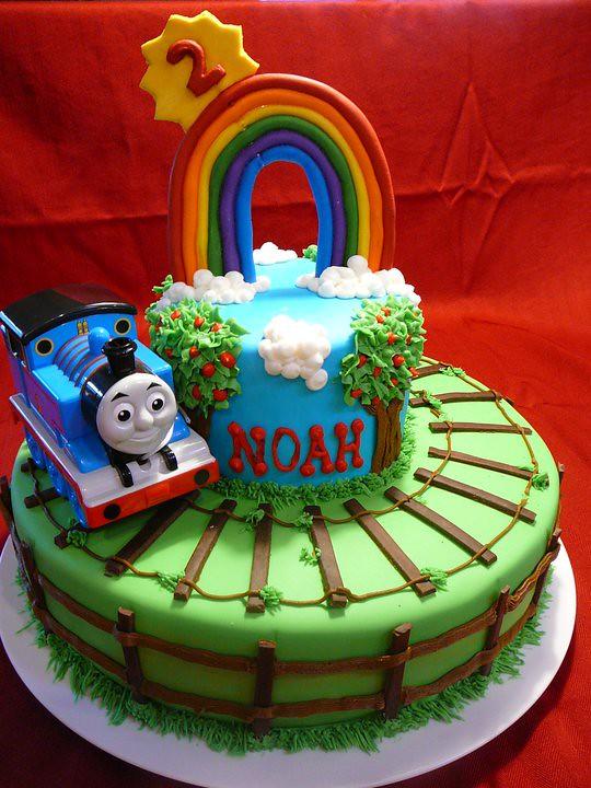 Thomas The Train Cake By Yvonne C Twin Cities Mn Www Bir