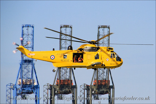RAF Westland Sea King Helicopter | by mariafowler.co.uk