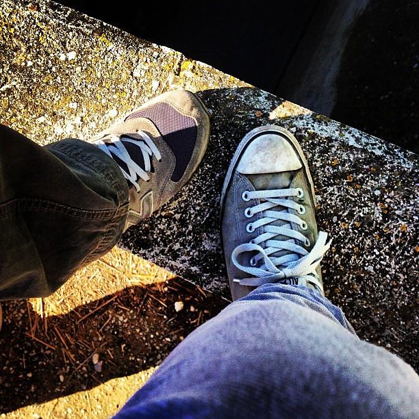 new balance vs converse