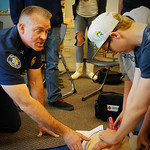 SVFD Completes High School CPR Training