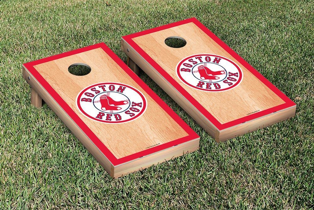 Boston Red Sox Hardcourt Version Cornhole Board