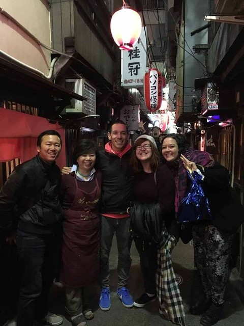 Night out with Tyler in Tokyo