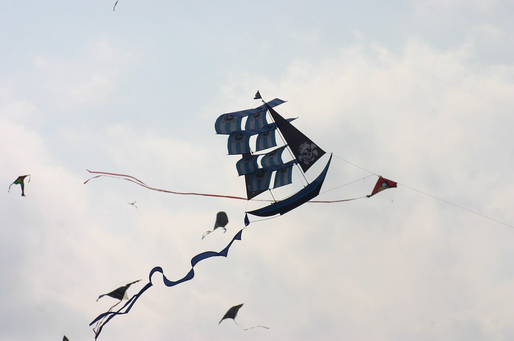 3d pirate ship kite instructions