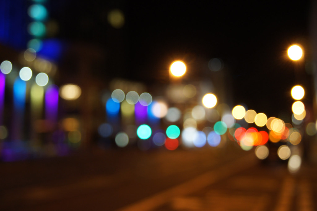 bokeh city lights photo - photo #19