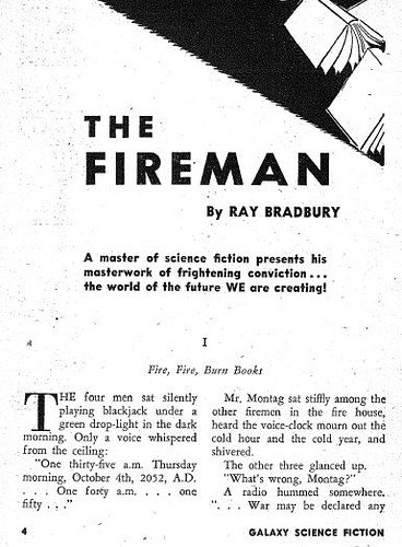 The Fireman by Ray Bradbury | by readthebook2