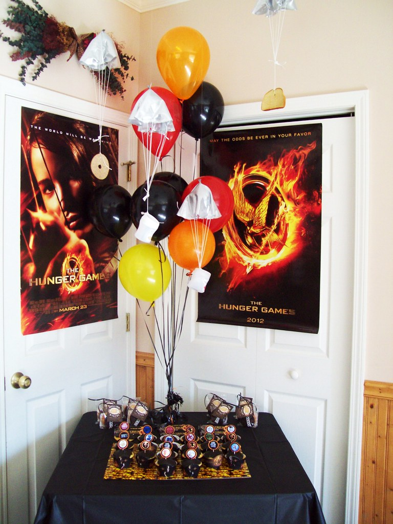 Hunger games party hunger games party ideas and supplies for R b party decorations