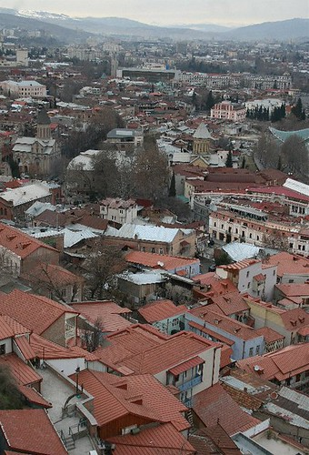 view over tbilisi | by arrancat