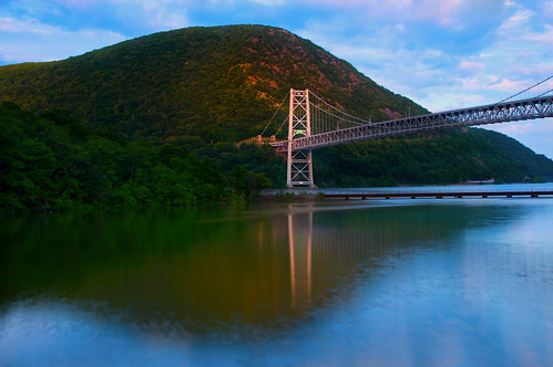 Tower Reflection at Bear Mountain Bridge | by SunnyDazzled