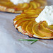 Tarte Fine aux Peche with Rosemary Infused Mascarpone