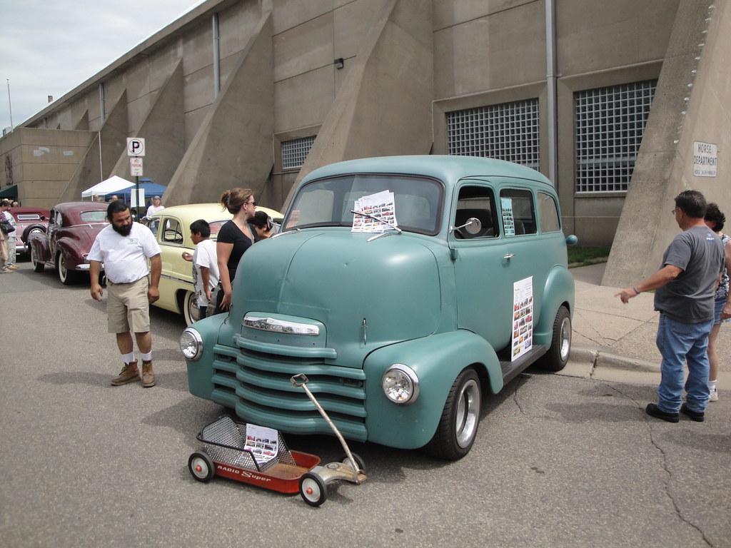 1950 Chevrolet COE Suburban (Cab Over Engine) | Minnesota ...