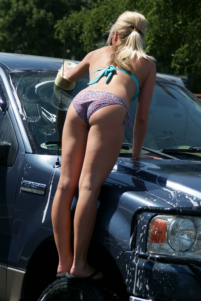 Car Wash With Fat Ass Mature Sara Jay