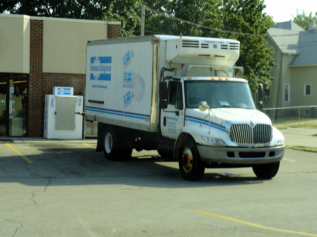 Home City Ice International 4300 Ice Delivery Truck Flickr