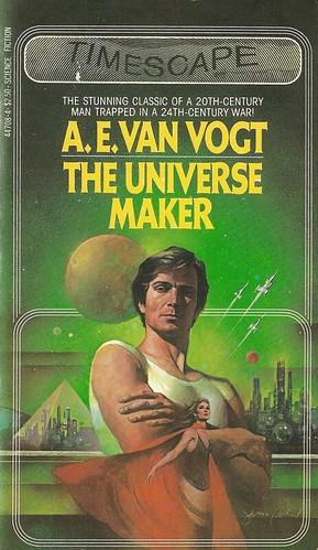 A.E. Van Vogt - The Universe Maker (Timescape 1982)