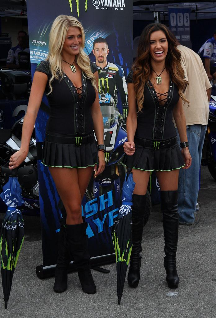 Monster Energy Drink Girls  Bradi S And Mercedes Terrell -5067