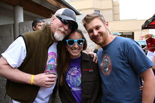 Jeff, Ali & Mike at Old Skool Art Walk! | by DeschutesBrewery