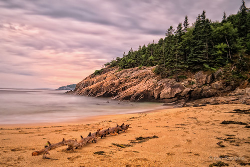 Sand Beach, Acadia National Park, Maine | by Ken Rowland