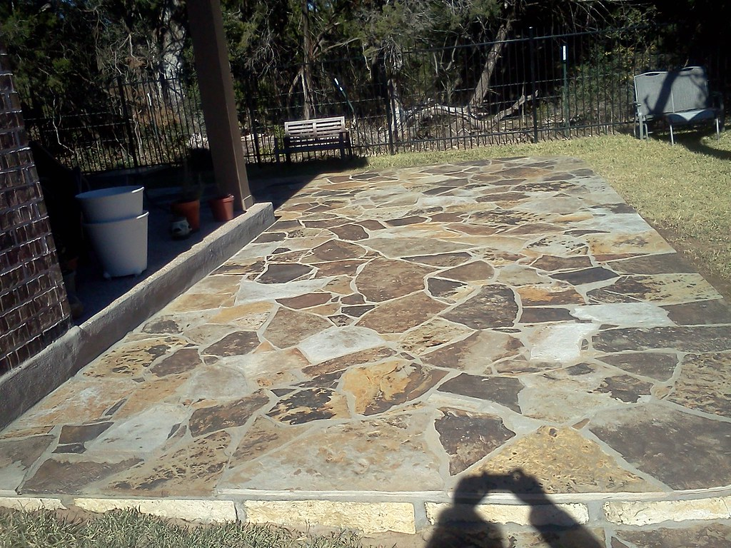 Oklahoma flagstone patio austin flagstone patio Flagstone patios colleyville tx