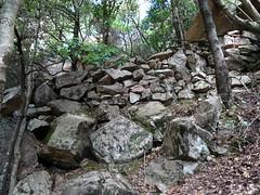 Brèche du Carciara d'Aragali : on retrouve l'ancien chemin d'exploitation