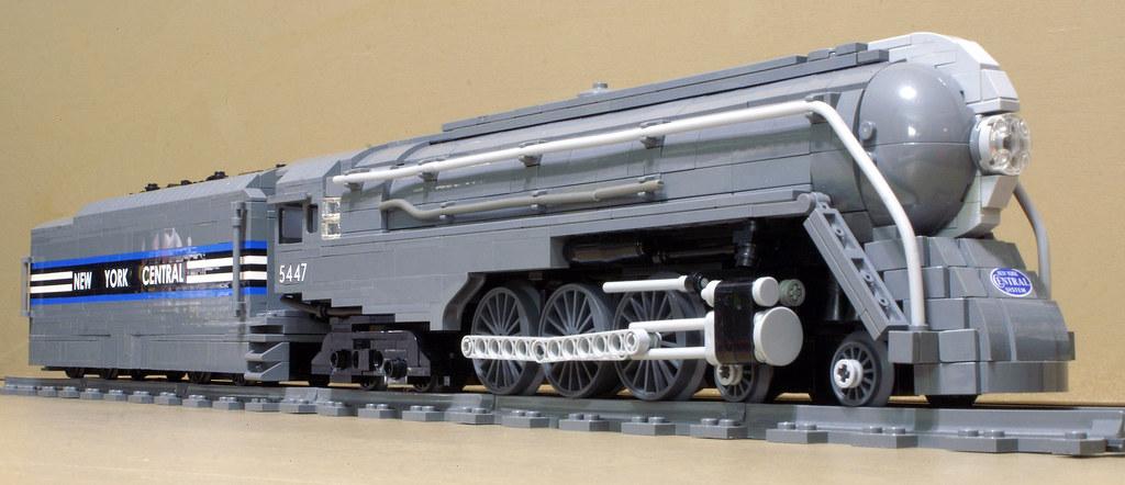 New York Central J3A Dreyfuss Hudson | The New York ... Henry Dreyfuss Train