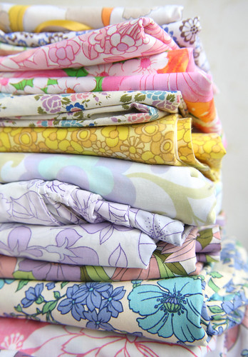 Vintage Fabric Stack | by HeartHandmadeUK