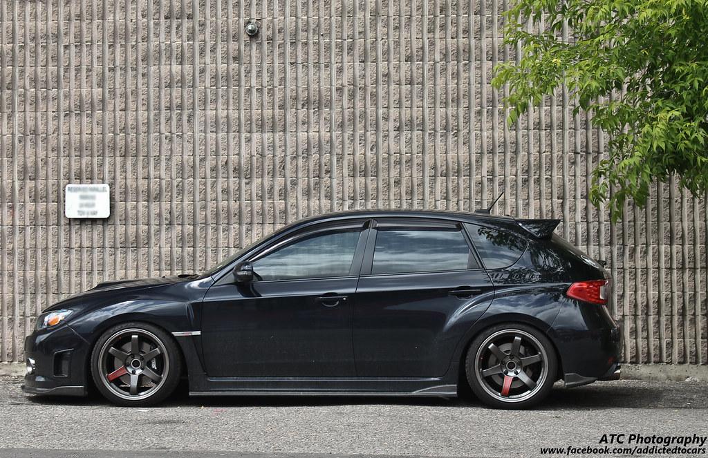 wrx subaru hatchback impreza slammed cars lowered sti sport bmw