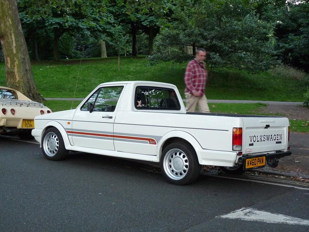 vw volkswagen caddy pickup 30th june 2012 london u k flickr. Black Bedroom Furniture Sets. Home Design Ideas