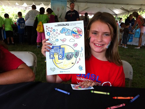 Coloring @ Kids' Fest | by homefm